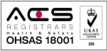 ACS registrars Health and Safety OHSAS 18001